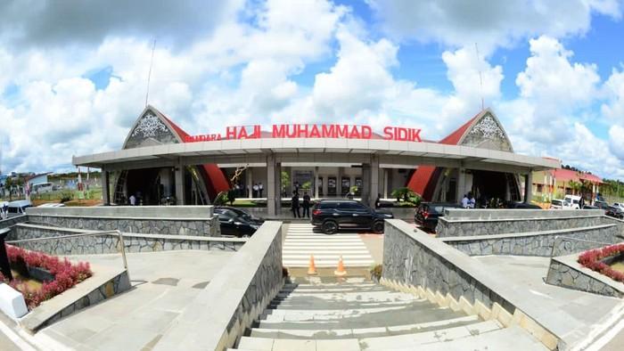 Bandara Haji Muhammad Sidik di Kalimantan Tengah diresmikan.
