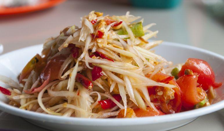 Bang Chan Stray Kids Suka Makanan Thailand