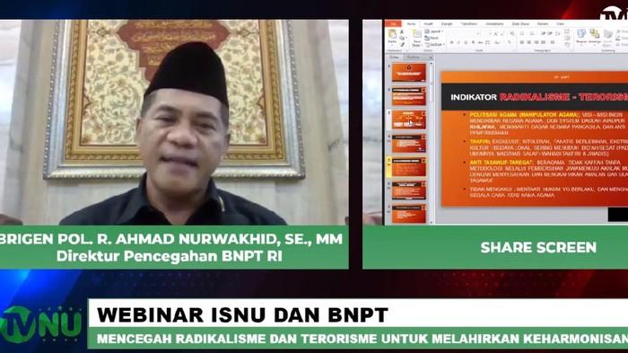 Direktur pencegahan BNPT Brigjen R. Ahmad Nurwakhid