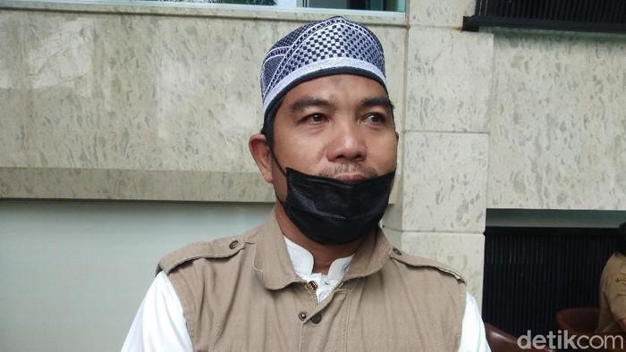 Eks napi teroris (napiter) peledakan bom di Mc Donalds Makassar tahun 2002, Mukhtar Daeng Lau (Hermawan/detikcom).