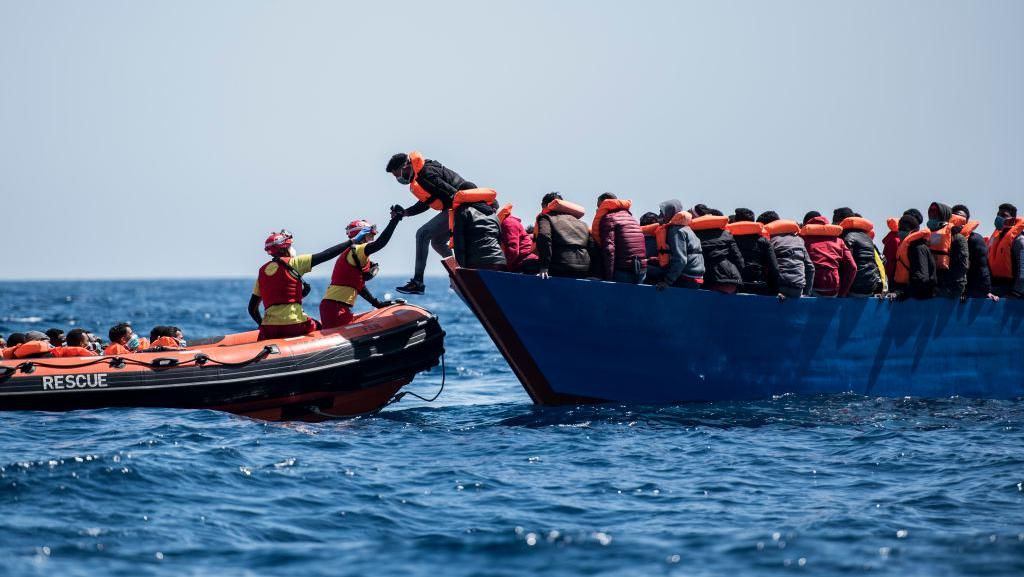 Libya Cegat Perahu Tampung 138 Migran yang Hendak ke Eropa