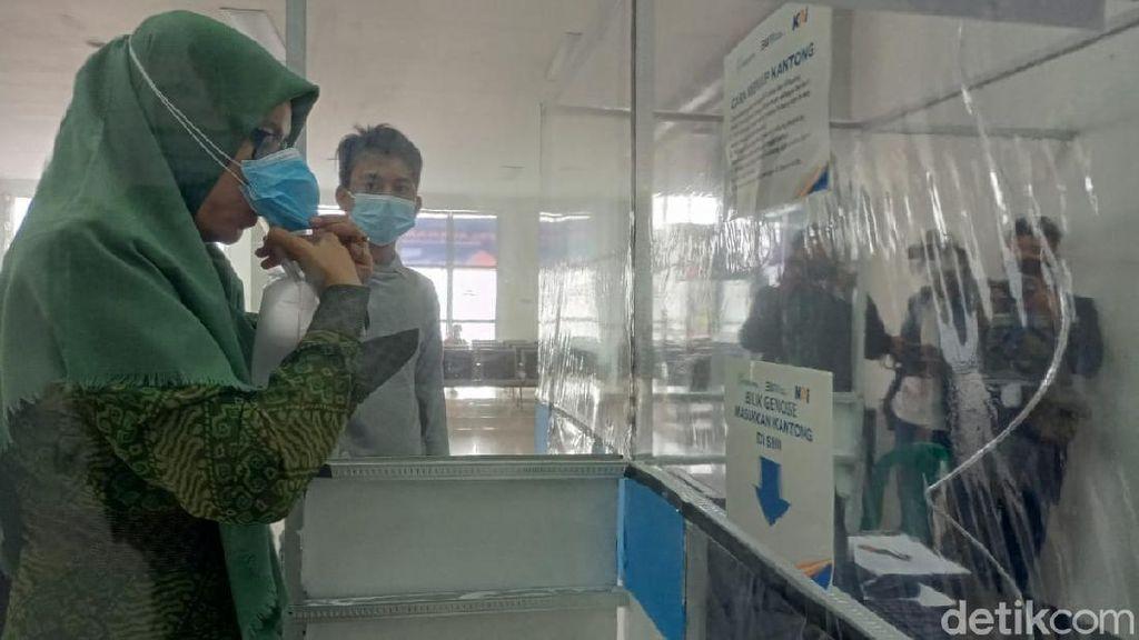 Stasiun Kota Kediri Kini Sudah Sediakan Layanan Tes GeNose C19