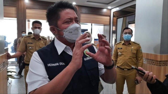 Gubernur Sumatera Selatan (Sumsel), Herman Deru
