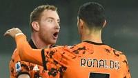 Kulusevski Belajar Sundulan dari De Ligt dan Ronaldo