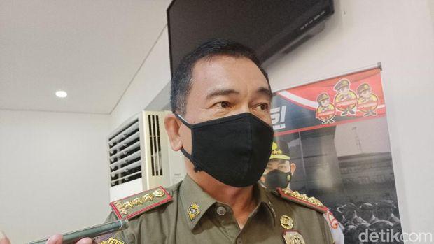 Kasatpol PP Jakarta Barat Tamo Sijabat