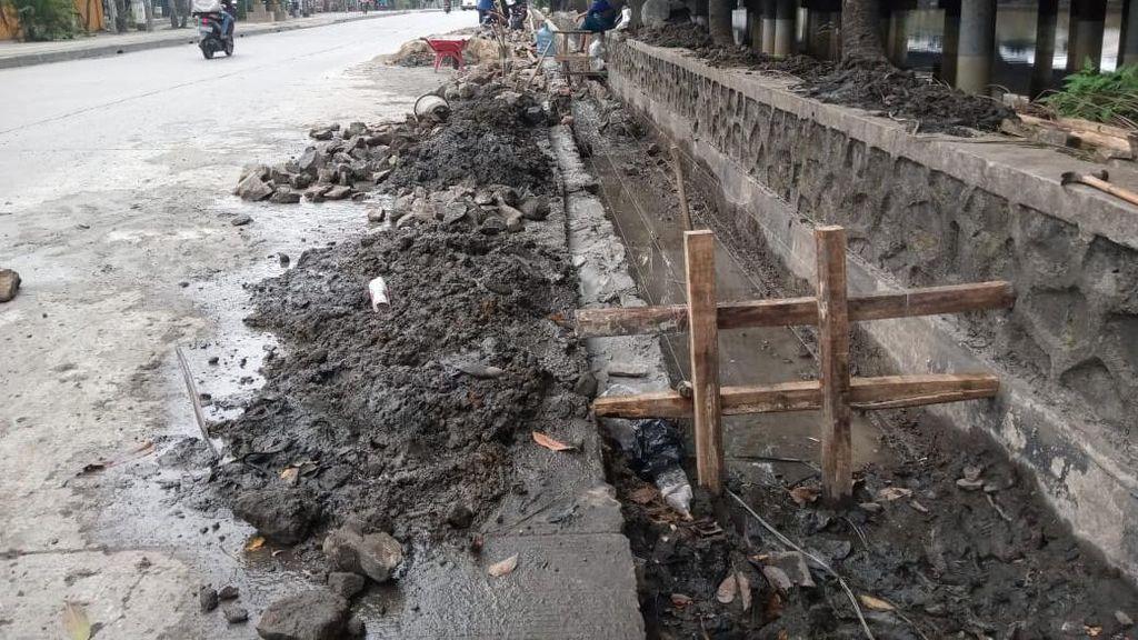 Kolam-Drainase Antibanjir Jl Martadinata Ancol Bakal Kelar Sebelum Lebaran