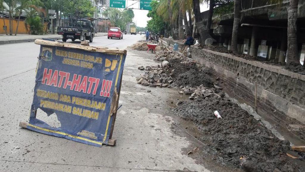 Disebut Hampir Rampung, Begini Kondisi Kolam Olakan Jl RE Martadinata Ancol