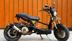 Potret Modifikasi Yamaha Mio Soul Ala Low Rider