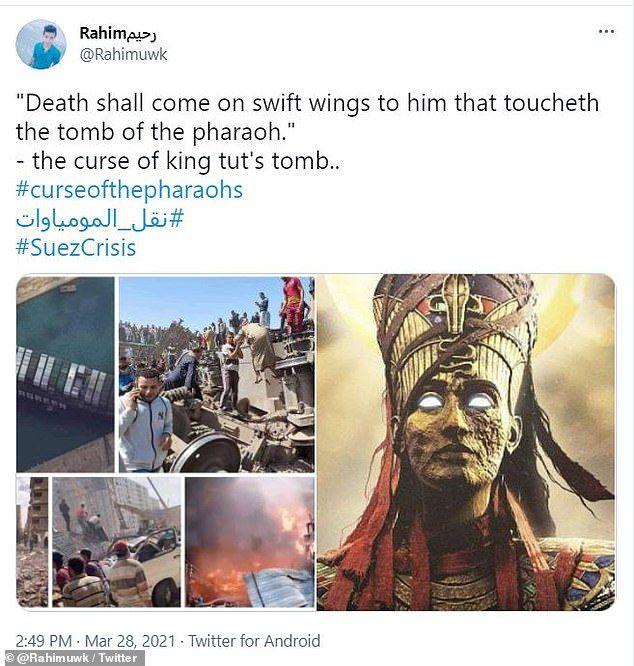 Netizen kutukan firaun