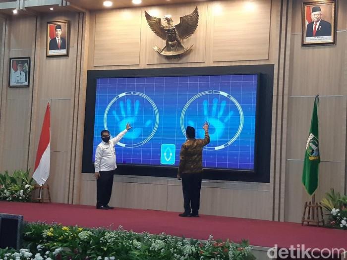 Peluncuran e-Perda di Provinsi Banten