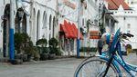 Pembatasan Pengunjung di Kota Tua Jakarta