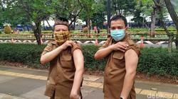 Cerita Guru yang Sudah Bisa Vaksinasi Corona di Istora Senayan