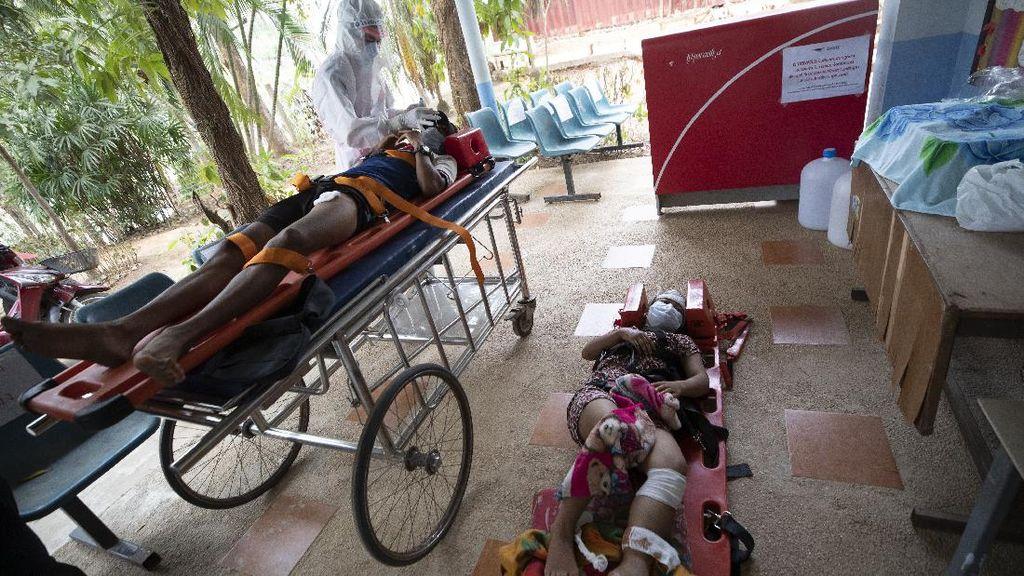 Diserang Jet Militer, Warga Myanmar Kabur ke Thailand