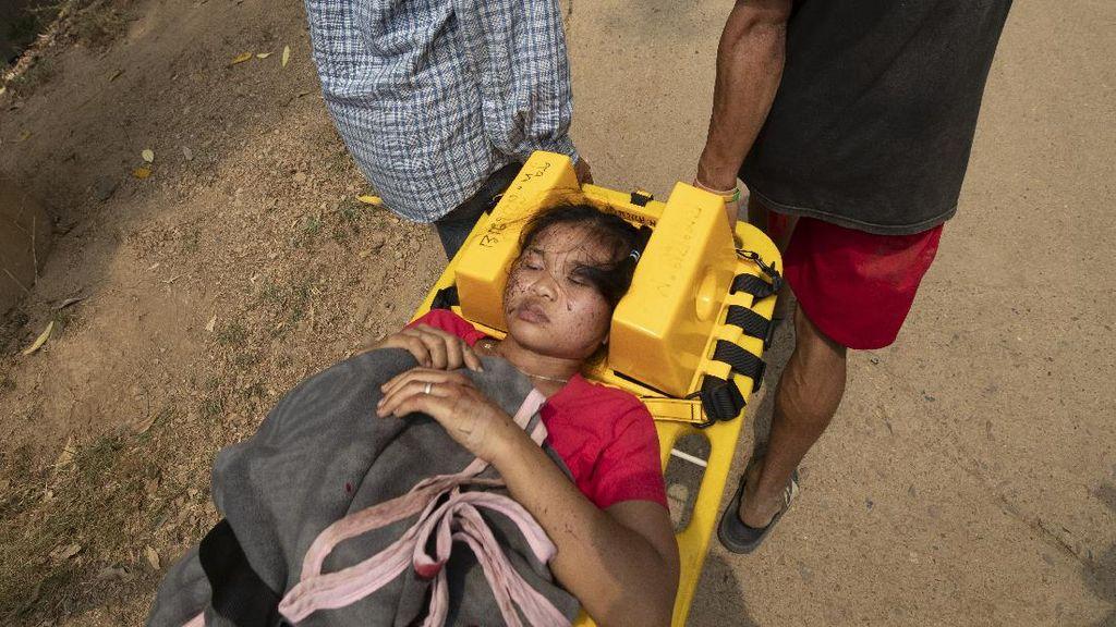 Thailand Bantah Pulangkan Warga Myanmar yang Kabur dari Serangan Militer