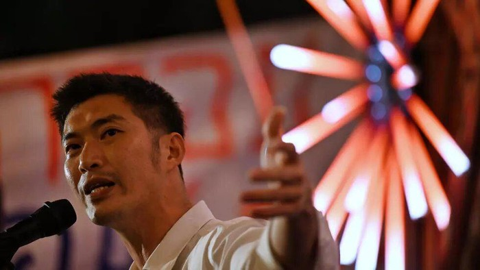 Thai billionaire Thanathorn Juangroongruangkit founded the now-dissolved Future Forward Party (Lillian SUWANRUMPHA AFP/File)