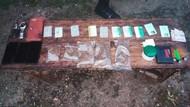 TNI Sita Ratusan Gram Ganja dari Bawah Jok Mobil di Perbatasan Papua