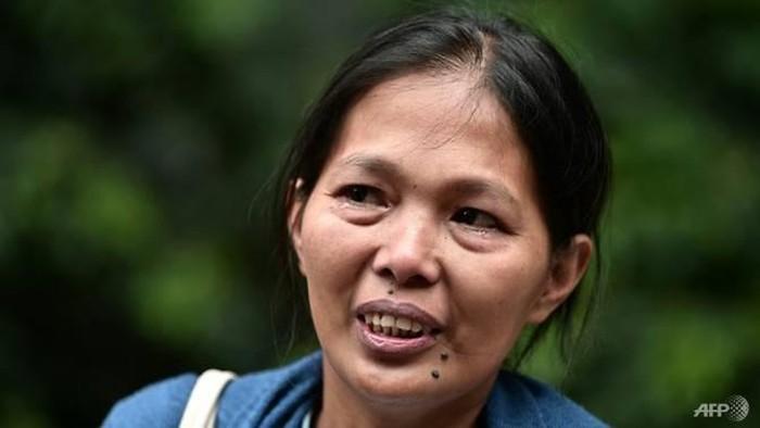 Baby Jane, seorang PRT di Hong Kong yang dipecat lantaran didiagonis kanker