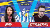 Keanehan Adu Catur Irene vs GothamChess: Fischer Random Chess