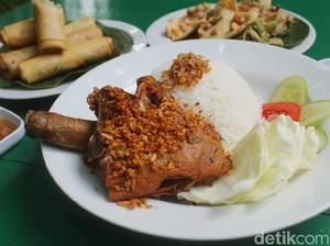 Bebek Perdikan: Empuk Juicy Bebek Goreng di Restoran dalam Gang Buntu
