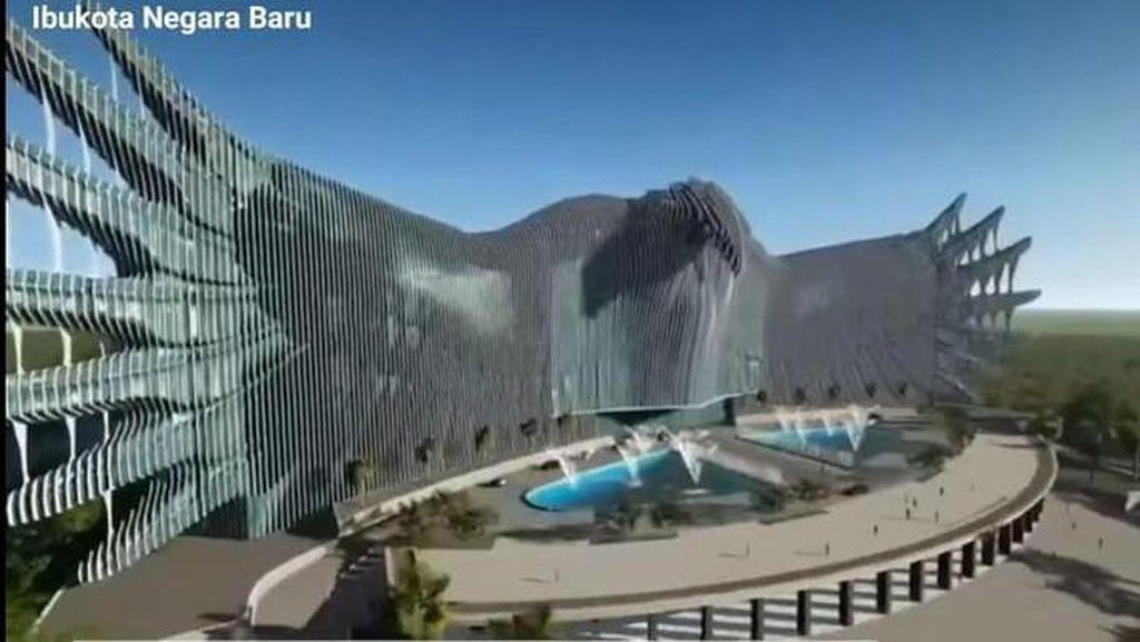 Desain Garuda Ibu Kota Baru Dinyinyiri, Bupati Yakin Bakal Jadi Tempat Selfie
