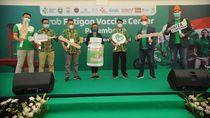Fatigon Bersama Grab & Kemenkes Hadirkan Pusat Vaksinasi di Palembang
