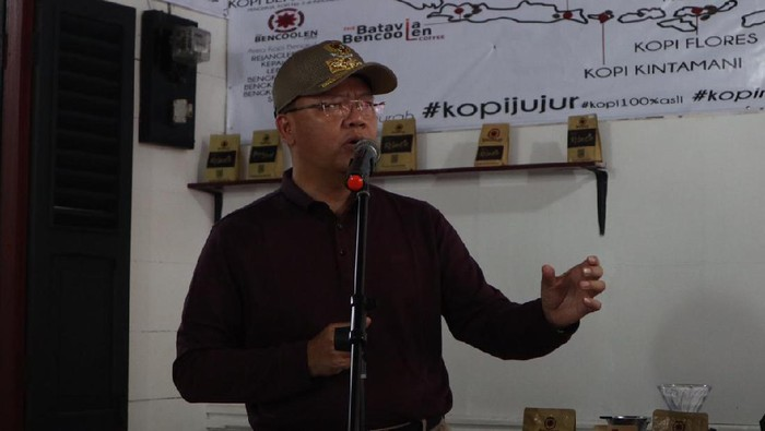 Gubernur Bengkulu, Rohidin Mersyah (Hery-detikcom)