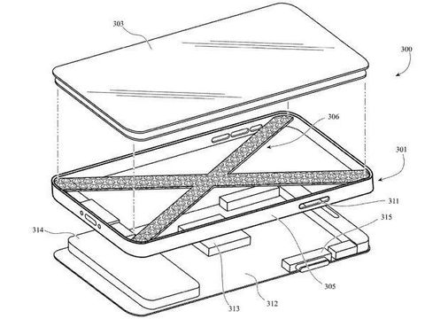 Apple patenkan iPhone dengan desain parutan keju