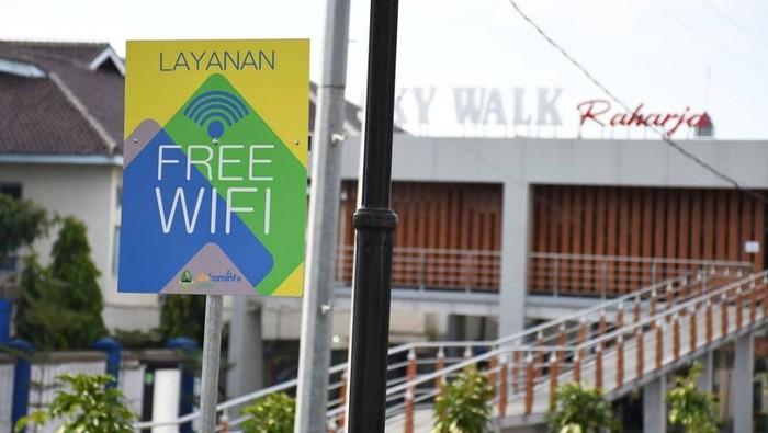 Jaringan WiFi gratis di ruang publik Majalengka.