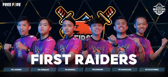 Kenalan Dengan Tim Perwakilan Indonesia Untuk FFWS 2021 Singapura: First Raiders