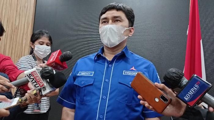 Kepala Bakomstra DPP Partai Demokrat, Herzaky Mahendra Putra (Sachril-detikcom)