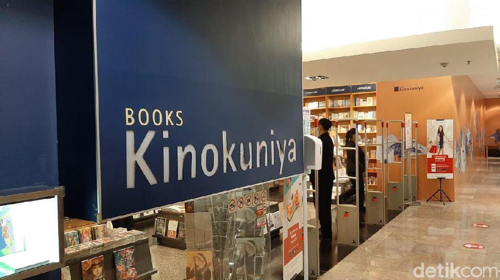 Toko Buku Kinokuniya Plaza Senayan Resmi Tutup 1 April