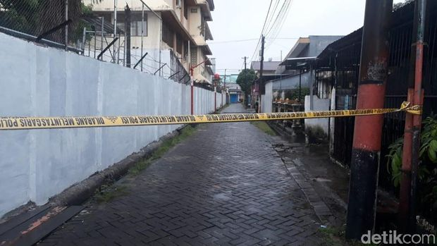 Kotak mencurigakan bertuliskan 'Islam X' ditemukan di Makassar, Sulsel. (Dok. Istimewa)