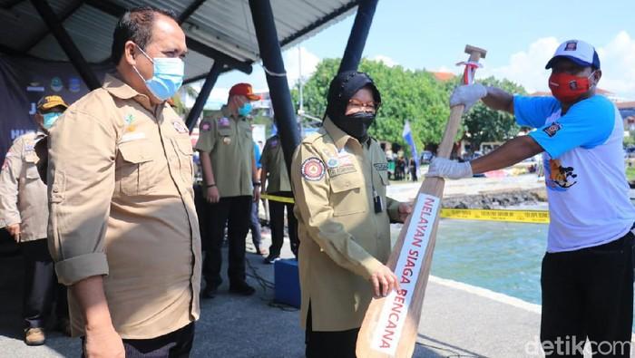 Mensos Risma mencanangkan 1.000 nelayan siaga bencana di Pangandaran