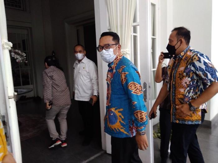 Ridwan Kamil temui Edy di Medan (Datuk-detikcom)