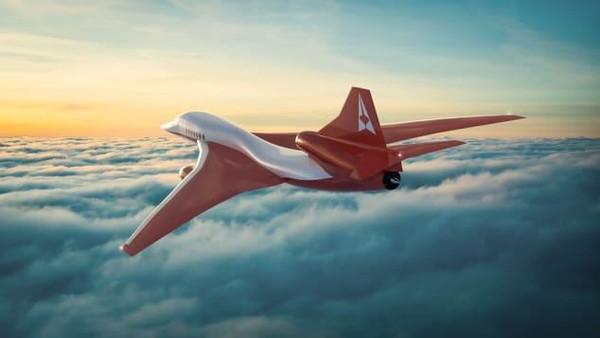 Dengan kecepatan lebih dari 6.000 km per jam, pesawat ini menjanjikan penerbangan yang begitu cepat. Dari New York ke London, pesawat dirancang bisa menempuh dalam 4,5 jam. (dok. Aerion)
