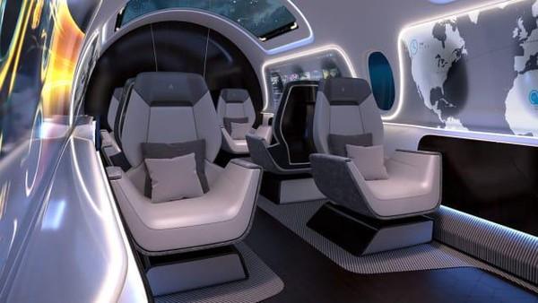 AS2 adalah tawaran dari Aerion untuk jadi pesawat supersonik pertama untuk layanan komersial. (dok. Aerion)
