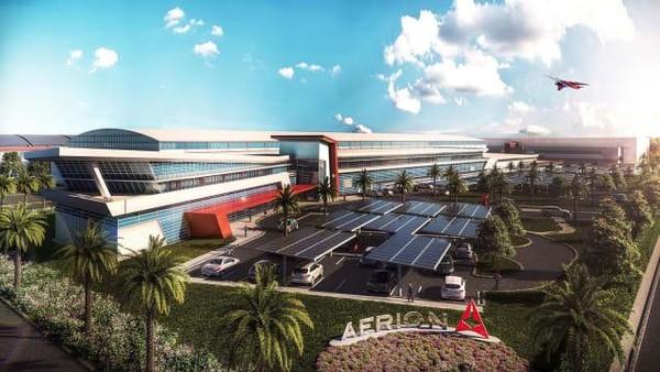 Perusahaan jet supersonik, Aerion saat ini tengah membangun kantor pusat global yang baru di Florida. Lokasinya tepat di sebelah Bandara Internasional Orlando Melbourne. (dok. Aerion)