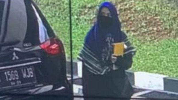 ZA, perempuan berpistol penyerang Mabes Polri, 31 Maret 2021. (Dok Istimewa)