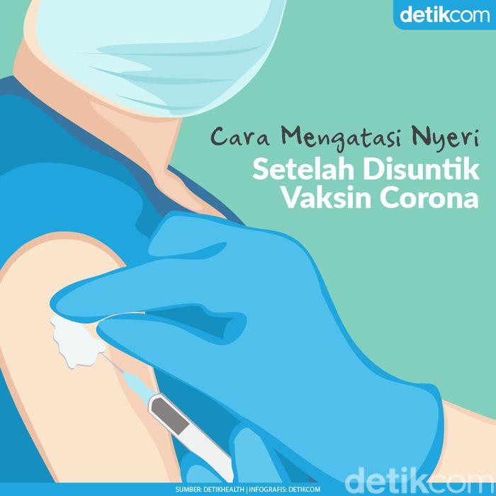 6 Tips Meredakan Nyeri Bekas Suntik Vaksin COVID-19
