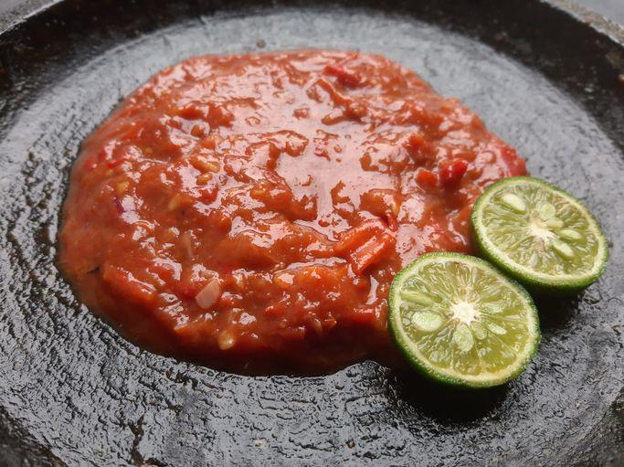 boba topping sambal belacan
