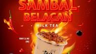 Gokil! Bubble Tea Ini Disajikan dengan Topping Sambal Belacan