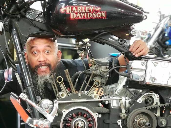 Boyke Soerianata, Dokter Harley-Davidson di AS