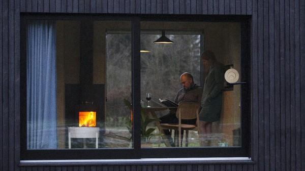 The Slow Cabin, sebuah konsep wirausahawan Antwerpen Xavier Leclair, yang menawarkan wisata alam dengan minim tertular virus Corona.