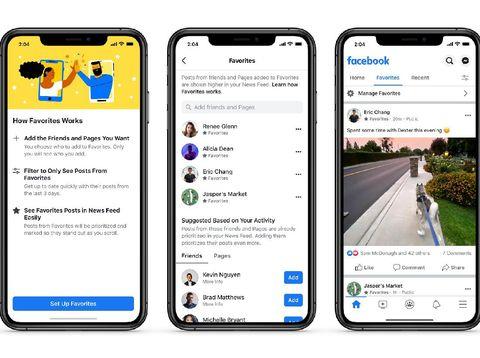 Fitur baru facebook mudahkan kontrol konten di News Feed