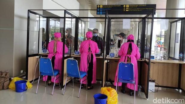 genose c19 di bandara juanda