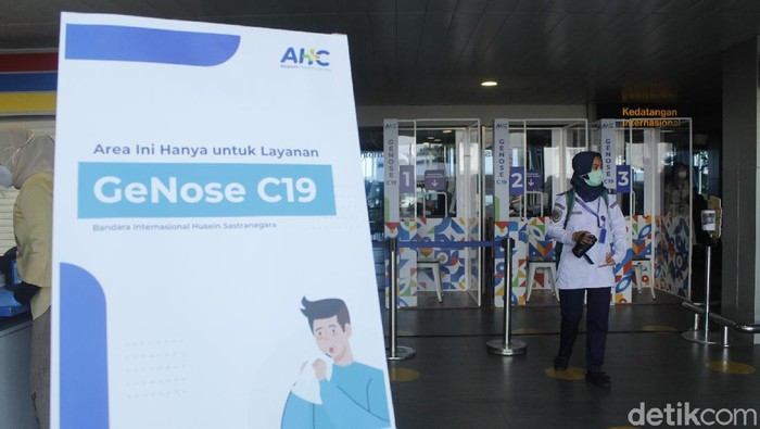 genose di bandara husein sastranegara