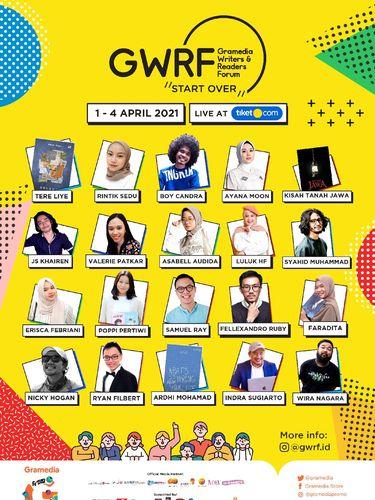 Gramedia Writers and Readers Festival (GWRF) 2021