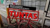 Before-after Rak #ParkiruntukSepeda Stasiun KRL Jakarta dan Sekitarnya