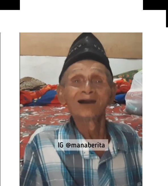 Miris! Kisah Kakek 76 Tahun Kena Tipu saat Jualan Tempe