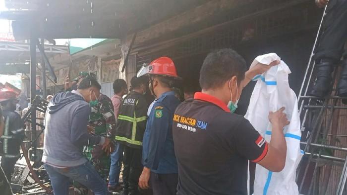 Kebakaran di Medan (dok. BPBD Medan)